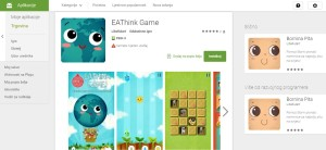EAThink game_google store